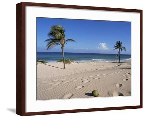 Santa Maria Del Mar, Cuba, West Indies, Central America-Mark Mawson-Framed Art Print