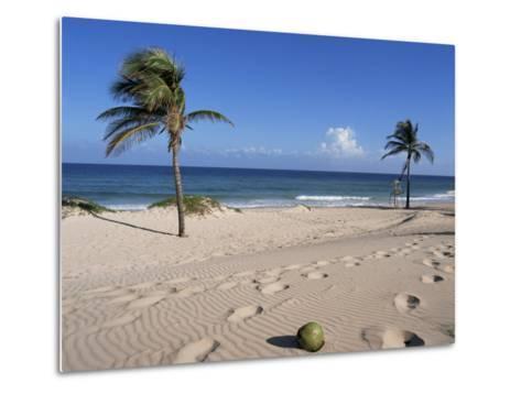 Santa Maria Del Mar, Cuba, West Indies, Central America-Mark Mawson-Metal Print