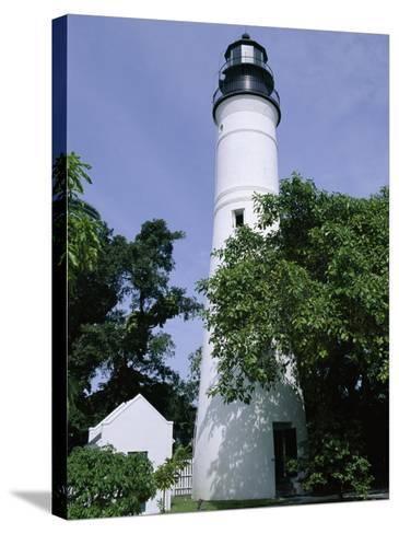 Lighthouse, Key West, Florida, USA-Fraser Hall-Stretched Canvas Print