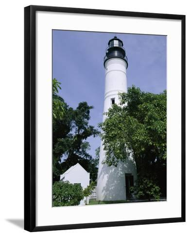 Lighthouse, Key West, Florida, USA-Fraser Hall-Framed Art Print