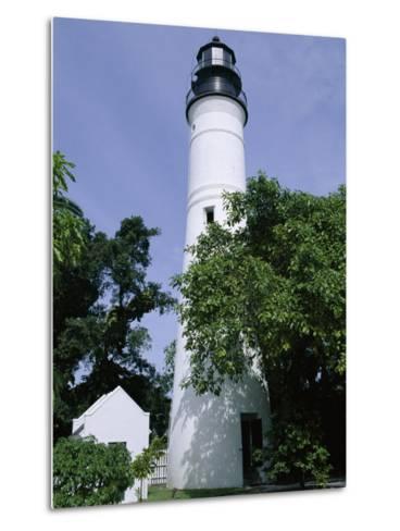 Lighthouse, Key West, Florida, USA-Fraser Hall-Metal Print