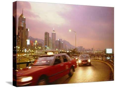 Causeway Bay, Hong Kong, China-Fraser Hall-Stretched Canvas Print
