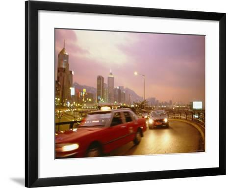 Causeway Bay, Hong Kong, China-Fraser Hall-Framed Art Print