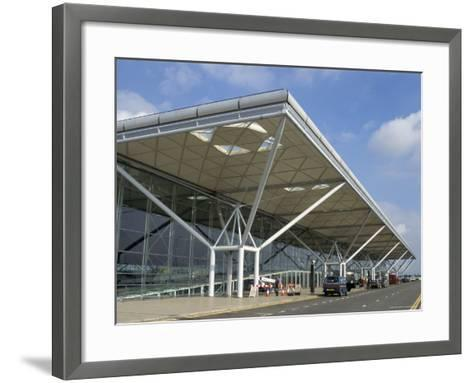 Stansted Airport Terminal, Stansted, Essex, England, United Kingdom-Fraser Hall-Framed Art Print
