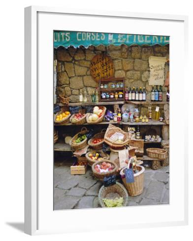 Sartene, Corsica, France-Fraser Hall-Framed Art Print