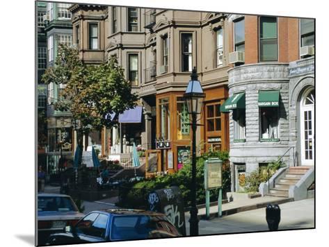 Newbury Street, Boston's Premier Shopping Street, Back Bay, Boston, Massachusetts, USA-Fraser Hall-Mounted Photographic Print