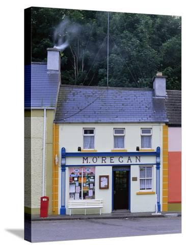 Shop, Kinvara, County Clare, Munster, Eire (Republic of Ireland)-Graham Lawrence-Stretched Canvas Print
