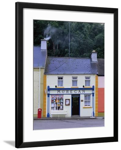 Shop, Kinvara, County Clare, Munster, Eire (Republic of Ireland)-Graham Lawrence-Framed Art Print