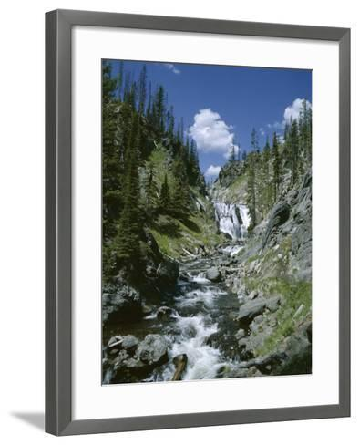 Rapids, Yellowstone National Park, Unesco World Heritage Site, Wyoming, USA-Jane O'callaghan-Framed Art Print