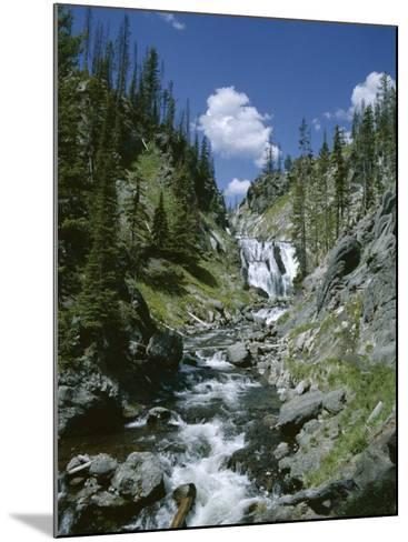 Rapids, Yellowstone National Park, Unesco World Heritage Site, Wyoming, USA-Jane O'callaghan-Mounted Photographic Print