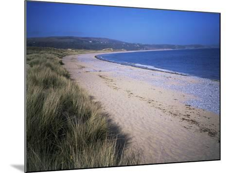 The Beach, Oxwich Bay, Gower, Swansea, Wales, United Kingdom-David Hunter-Mounted Photographic Print