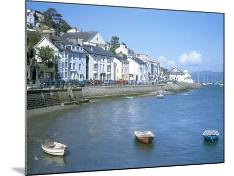 Dovey Estuary and Town, Aberdovey, Gwynedd, Wales, United Kingdom-David Hunter-Mounted Photographic Print