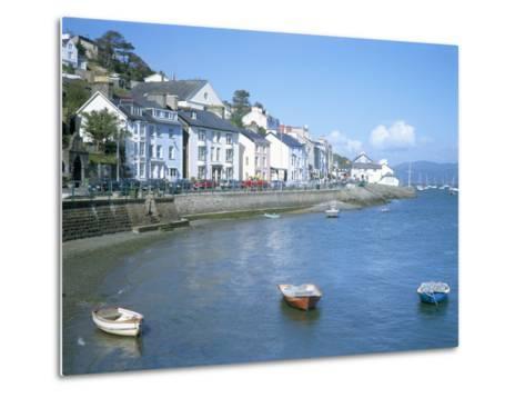 Dovey Estuary and Town, Aberdovey, Gwynedd, Wales, United Kingdom-David Hunter-Metal Print