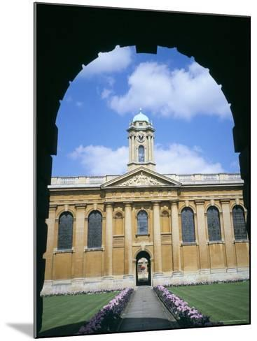 Queens College, Oxford, Oxfordshire, England, United Kingdom-David Hunter-Mounted Photographic Print