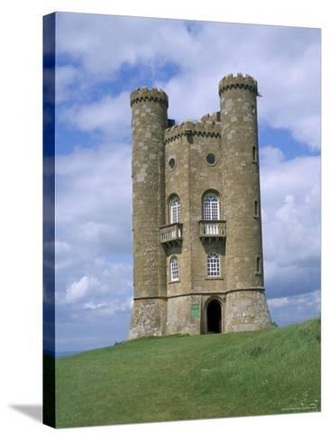 Broadway Tower, Broadway, Worcestershire, Cotswolds, England, United Kingdom-David Hunter-Stretched Canvas Print