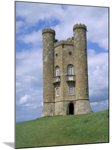 Broadway Tower, Broadway, Worcestershire, Cotswolds, England, United Kingdom-David Hunter-Mounted Photographic Print