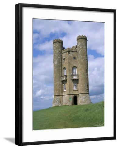 Broadway Tower, Broadway, Worcestershire, Cotswolds, England, United Kingdom-David Hunter-Framed Art Print