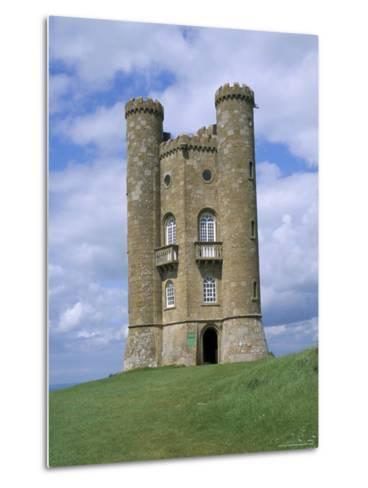 Broadway Tower, Broadway, Worcestershire, Cotswolds, England, United Kingdom-David Hunter-Metal Print