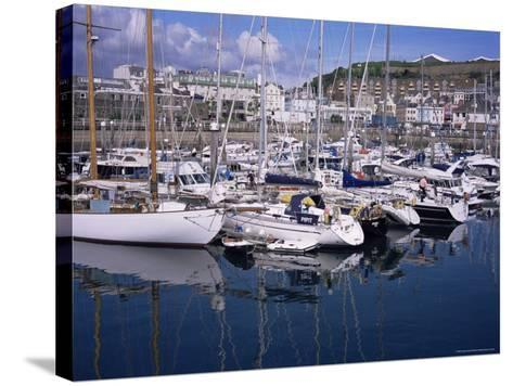 Elizabeth Marina, St. Helier, Jersey, Channel Islands, United Kingdom-David Hunter-Stretched Canvas Print