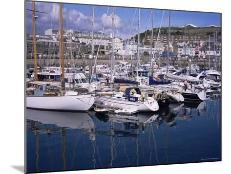 Elizabeth Marina, St. Helier, Jersey, Channel Islands, United Kingdom-David Hunter-Mounted Photographic Print