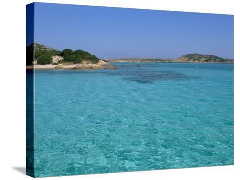 Cala Dei Cavaliere, Budelli Island, Maddalena Archipelago, Island of Sardinia, Italy-Bruno Morandi-Stretched Canvas Print