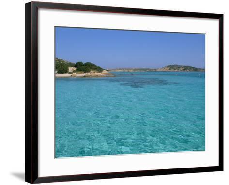 Cala Dei Cavaliere, Budelli Island, Maddalena Archipelago, Island of Sardinia, Italy-Bruno Morandi-Framed Art Print