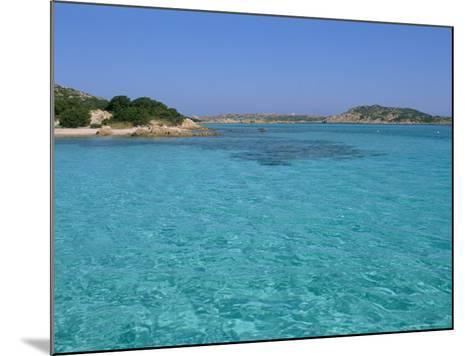 Cala Dei Cavaliere, Budelli Island, Maddalena Archipelago, Island of Sardinia, Italy-Bruno Morandi-Mounted Photographic Print