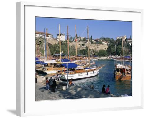 Antalya, Lycia, Anatolia, Turkey-Bruno Morandi-Framed Art Print
