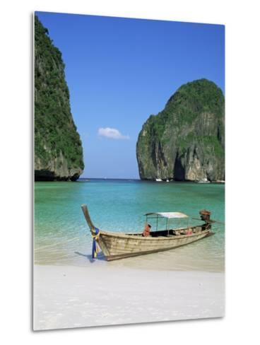 Ao Maya, Phi Phi Le, Ko Phi Phi, Krabi Province, Thailand, Southeast Asia-Bruno Morandi-Metal Print