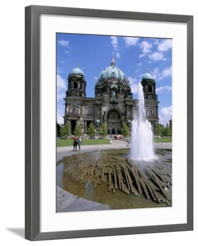 The Dom (Cathedral), Berlin, Germany-Bruno Morandi-Framed Art Print
