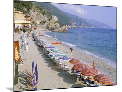 Fegina Beach, Cinque Terre, Liguria, Italy-Bruno Morandi-Mounted Photographic Print
