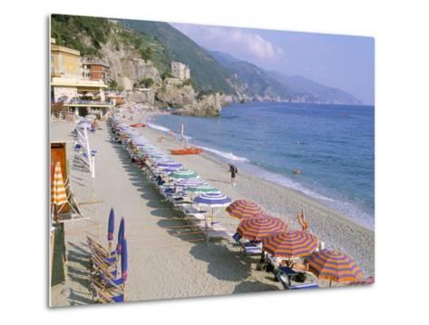 Fegina Beach, Cinque Terre, Liguria, Italy-Bruno Morandi-Metal Print