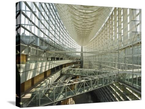 Tokyo International Forum Building, Marunouchi, Tokyo, Japan-Christian Kober-Stretched Canvas Print