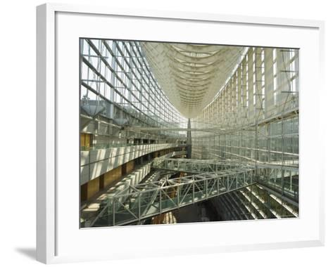 Tokyo International Forum Building, Marunouchi, Tokyo, Japan-Christian Kober-Framed Art Print