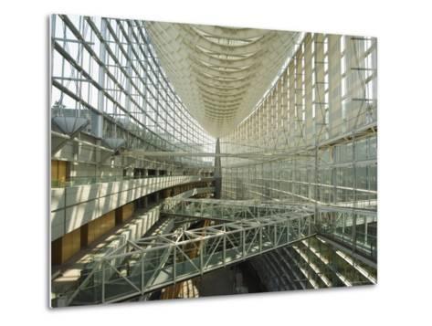 Tokyo International Forum Building, Marunouchi, Tokyo, Japan-Christian Kober-Metal Print