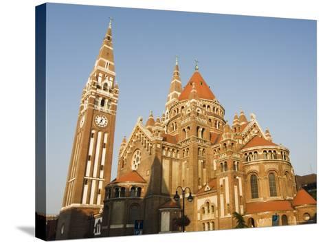 Szeged Cathedral, Szeged, Hungary-Christian Kober-Stretched Canvas Print