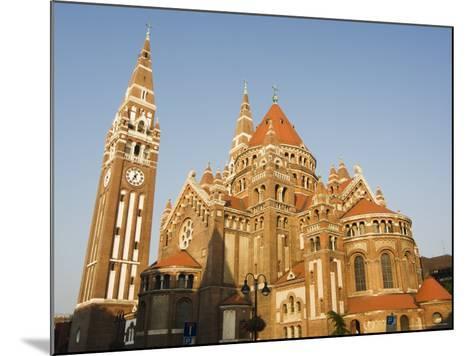 Szeged Cathedral, Szeged, Hungary-Christian Kober-Mounted Photographic Print