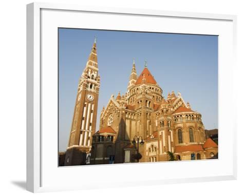 Szeged Cathedral, Szeged, Hungary-Christian Kober-Framed Art Print