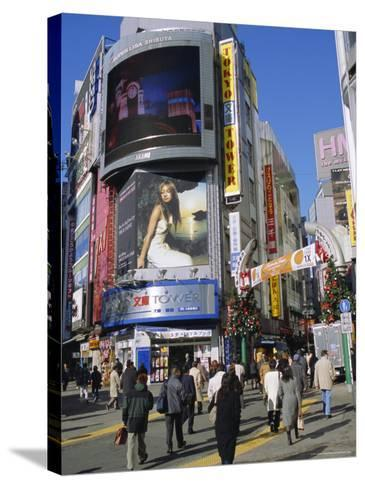 Street Scene, Shinjuku, Tokyo, Japan-Christian Kober-Stretched Canvas Print