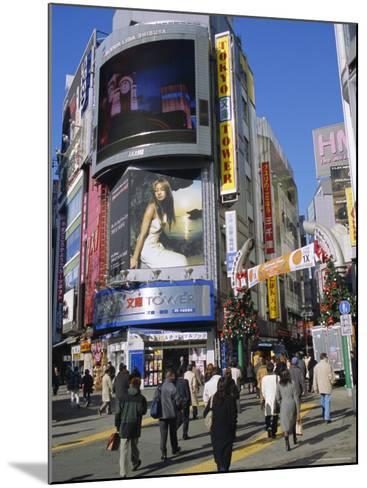Street Scene, Shinjuku, Tokyo, Japan-Christian Kober-Mounted Photographic Print