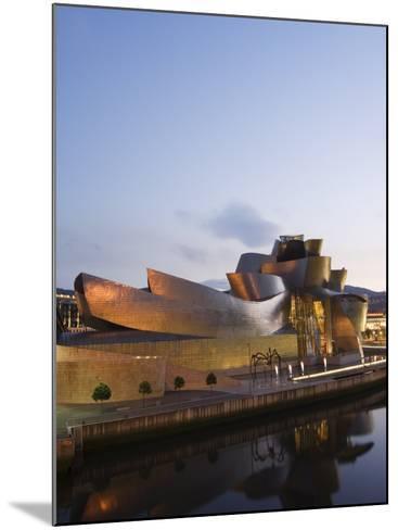 Guggenheim Modern Art Museum Designed by Frank Gehry, Bilbao, Basque Country, Euskadi, Spain-Christian Kober-Mounted Photographic Print