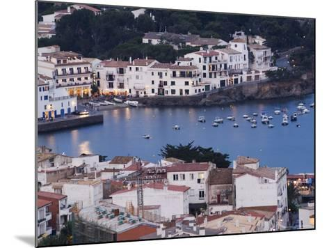 Cadaques, Mediterranean Harbour Town, Catalunya, Spain-Christian Kober-Mounted Photographic Print