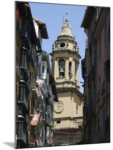 Cathedral Church, Pamplona, Navarra, Euskadi, Spain-Christian Kober-Mounted Photographic Print