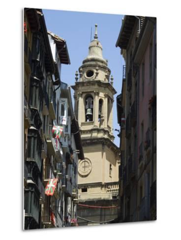 Cathedral Church, Pamplona, Navarra, Euskadi, Spain-Christian Kober-Metal Print