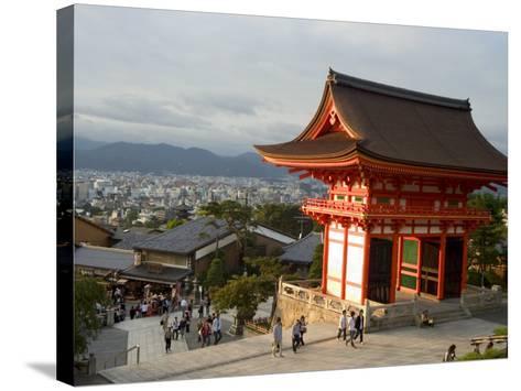 Kiyomizu Dera Temple, Unesco World Heritage Site, Kyoto City, Honshu, Japan-Christian Kober-Stretched Canvas Print