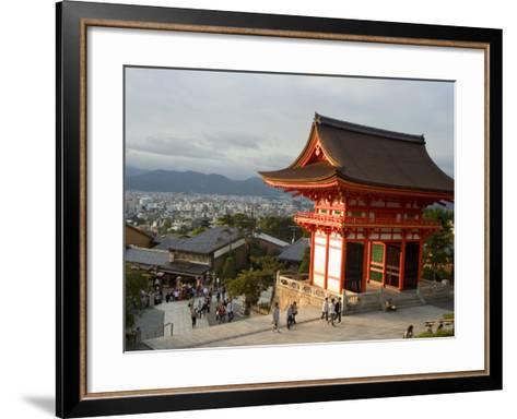 Kiyomizu Dera Temple, Unesco World Heritage Site, Kyoto City, Honshu, Japan-Christian Kober-Framed Art Print
