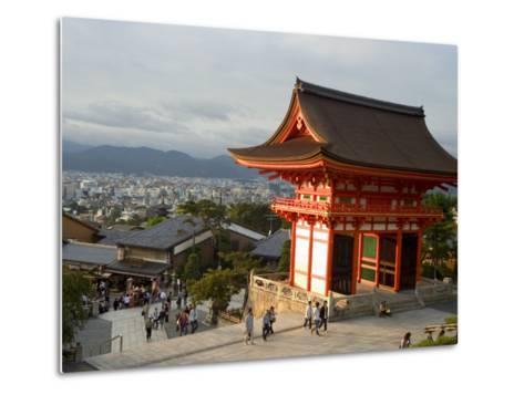 Kiyomizu Dera Temple, Unesco World Heritage Site, Kyoto City, Honshu, Japan-Christian Kober-Metal Print