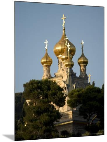 Russian Orthodox Church of Mary Magdalene, Mount of Olives, Jerusalem, Israel, Middle East-Christian Kober-Mounted Photographic Print