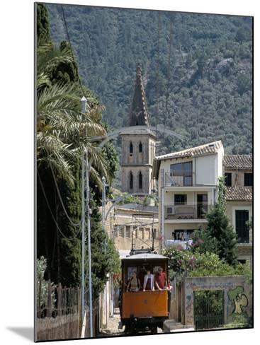 Tren De Soller Tramway, Soller, Mallorca (Majorca), Balearic Islands, Spain, Mediterranean-Christian Kober-Mounted Photographic Print