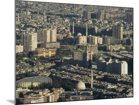 Aerial View of City, Damascus, Syria, Middle East-Christian Kober-Mounted Photographic Print